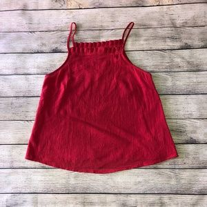 NWT Universal Thread Red Tank Top Size XS